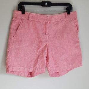 J.Crew City Fit 100% Cootn 6 1/2 inch Short